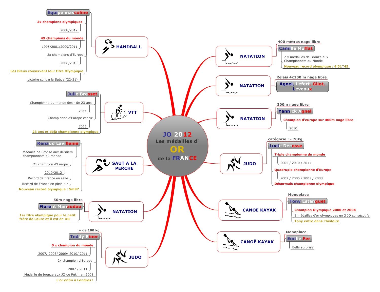 JO 2012 : Les médailles d'or de la France