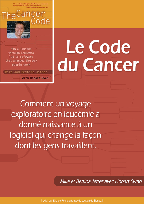 [E-book] Un logiciel de Mind Mapping né d'un combat contre le cancer !