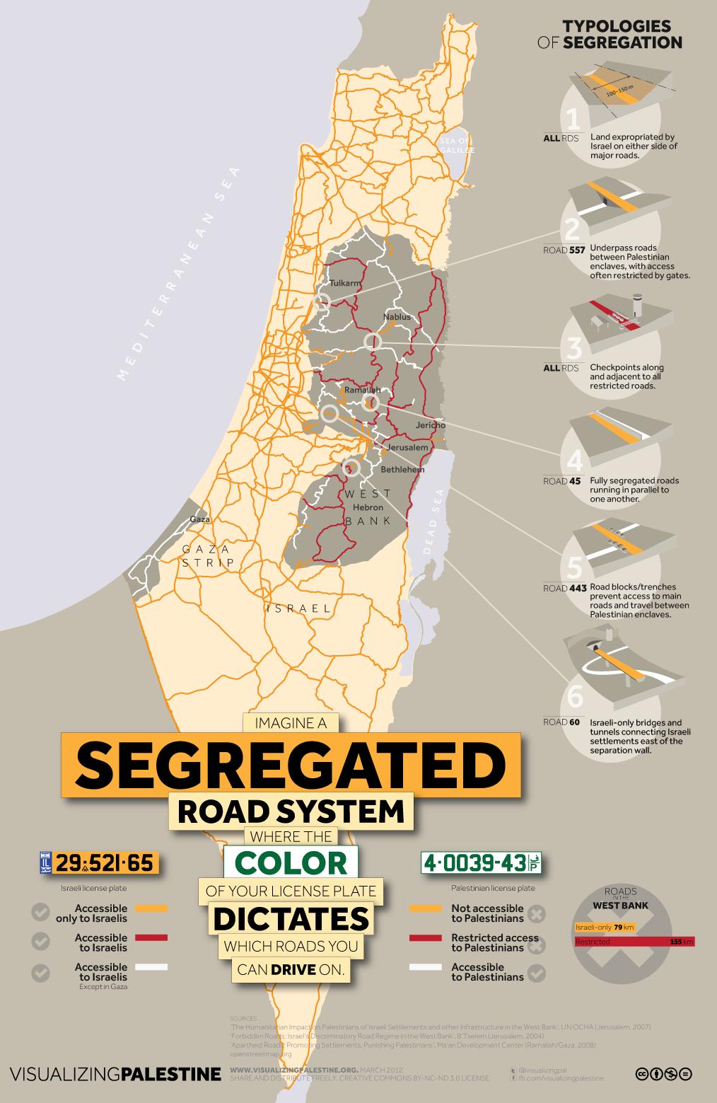 Comprendre le conflit Israélo-Palestinien en 11 infographies