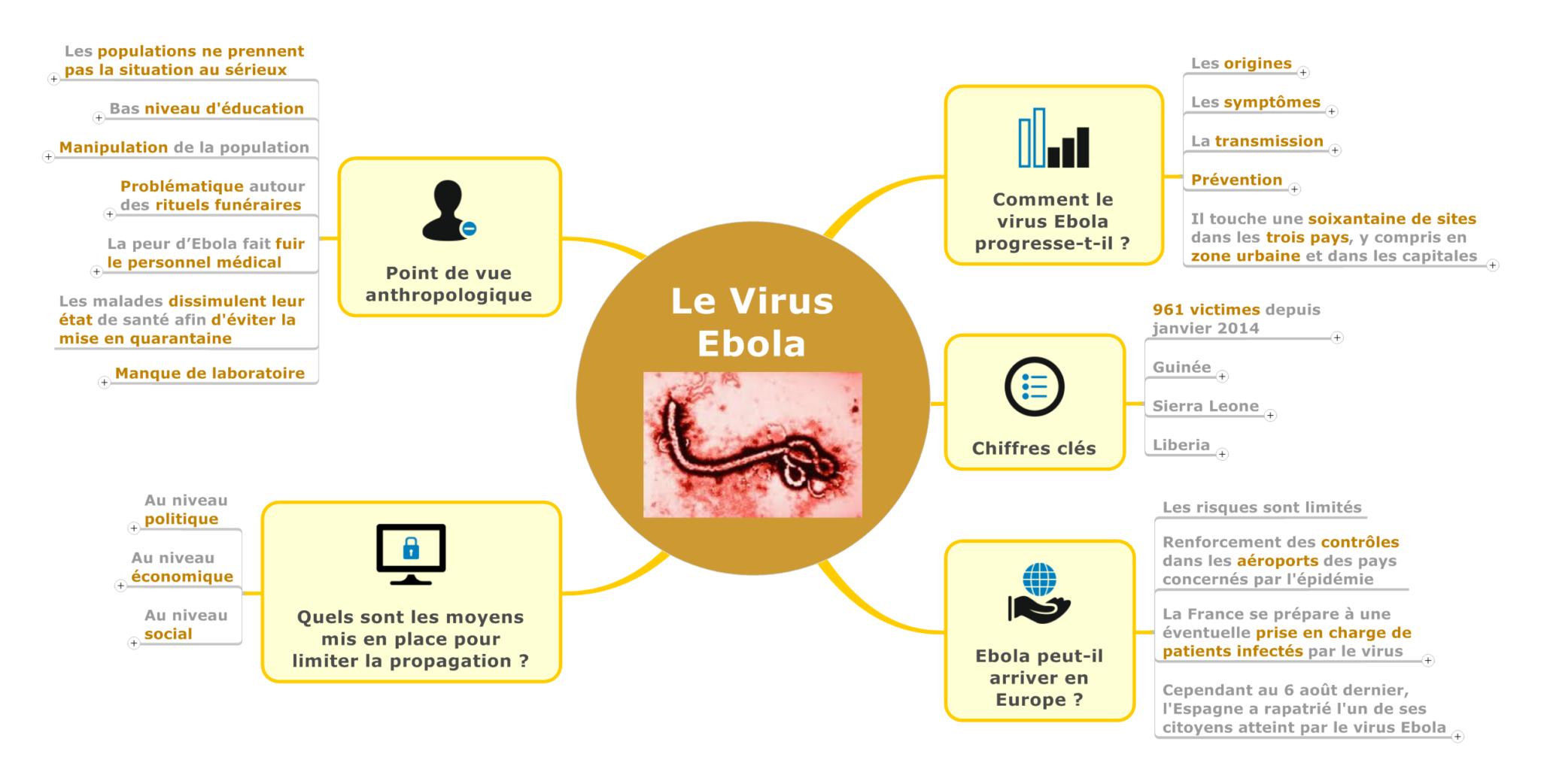 #ActuMapping – Le Virus Ebola