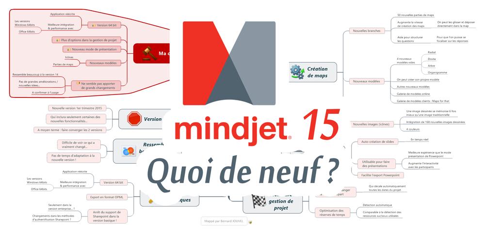Les nouveautés de Mindjet Mindmanager 15