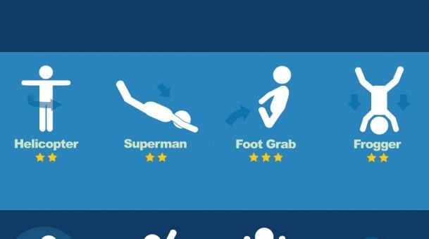 Infographie PISCINE, le Top 50 du plongeon en piscine !