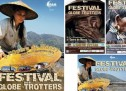 Affiche évènementiel festivals de voyage