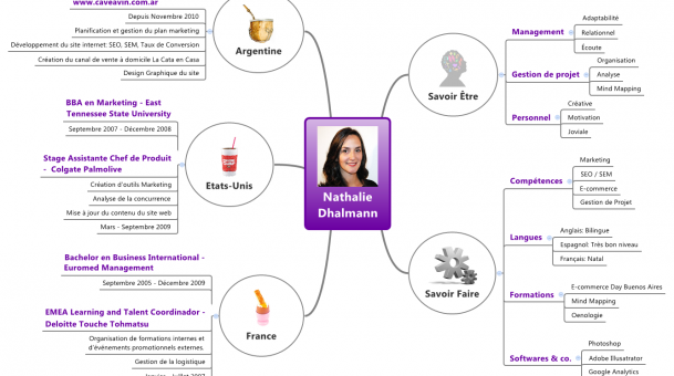 Mind Mapping et CV