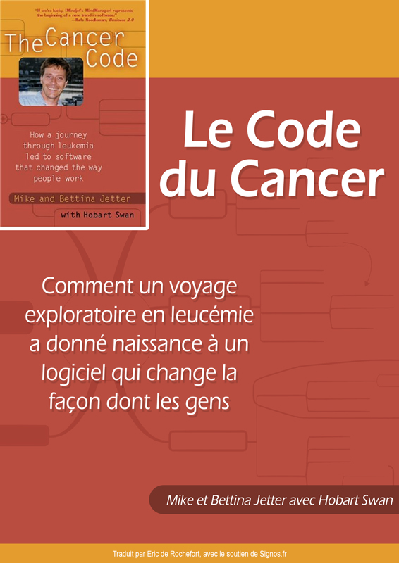 Couverture ebook gratuit Le Code du Cancer Mike Bettina Jetter
