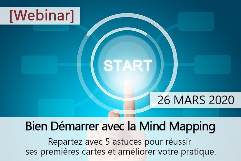 Webinar : Bien démarrer avec le Mind Mapping