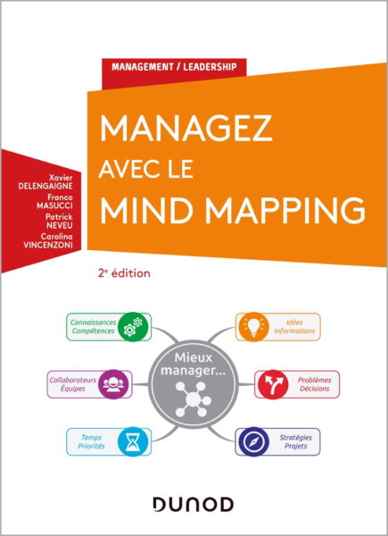 Couverture du livre Managez avec le mind mapping Dunod